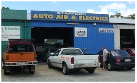 Stafford Auto Air and Electrics shop front